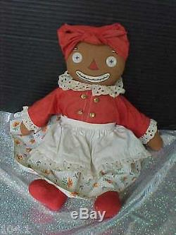 Vintage 15 African American Black Beloved Belindy Georgene Mark Not Visible