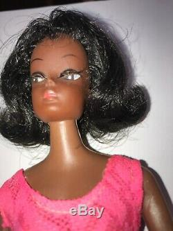 Vintage 1960s Barbie Clone African American Hong Kong Rooted Lashes (224)