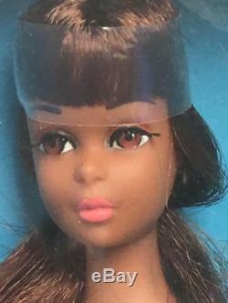 Vintage 1965 Barbie Black African American Francie Doll Nrfb