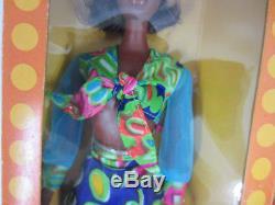 Vintage 1974 Mattel #7291 QUICK CURL CARA African American Barbie Doll NRFB New