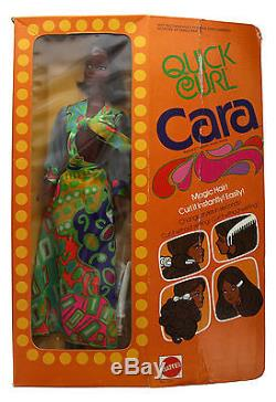 Vintage 1974 Quick Curl Cara African American Barbie Doll by Mattel #7291 NIB