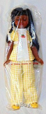Vintage 1976 Ideal Tara The Authentic Black Doll Sealed Rare African American AA