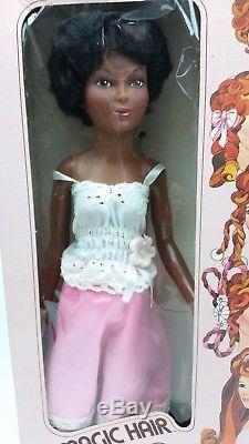 Vintage 1977 Ideal Magic Hair Crissy African American Doll