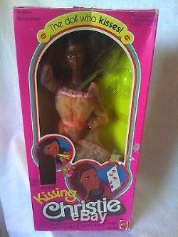 Vintage 1978 Aa Kissing Christie Barbie Doll African American New Nrfb