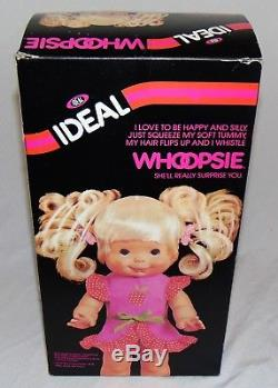 Vintage 1980 Ideal Whoopsie 14 Doll African American Sealed