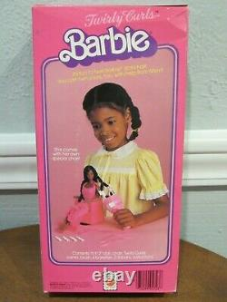 Vintage 1982 Barbie Superstar Era Twirly Curls Aa Doll #5723 Nib Sealed