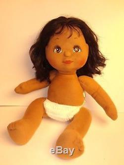 Vintage 1985 Mattel My Child Doll Black African American