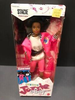 Vintage 1988 High School Jazzie Stacie Barbie Doll 3636 African American Steffie