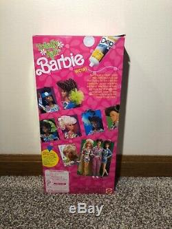 Vintage 1991 TOTALLY HAIR BARBIE DOLL African American/Black #5948 NEW IN BOX