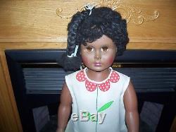 Vintage African American Walking 36 Patti Playpal Type Doll Uneeda