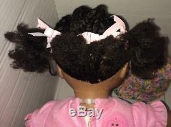 Vintage Amazing Amy Ineractive rare AA Black African American Doll accessories