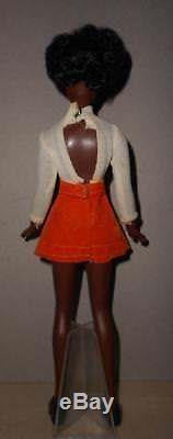 Vintage Barbie African American 9 Black Doll Wanda Skipper Doll Sz Shindana Htf