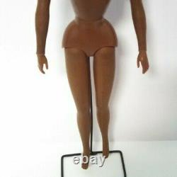 Vintage Barbie Live Action Christie Doll African American Bendable Knees Nude
