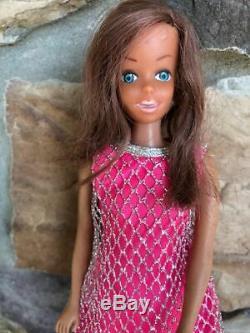 Vintage Barbie Rare Vhtf African American Malibu Francie Clone Doll