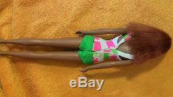 Vintage Black African American Francie Barbie