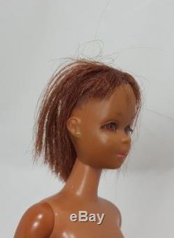 Vintage Black African American Francie Barbie Redish Hair