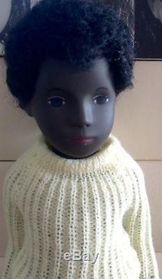 Vintage CALEB Black African American #309 SASHA Doll ORIG BOX withTAG England