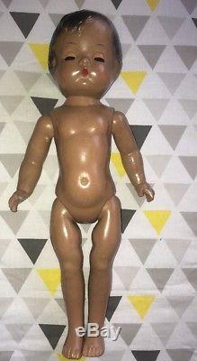Vintage Effanbee Patsy Joan Doll 1946, All Original African American RARE