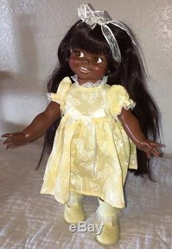 Vintage Ideal Black African American Giggles Doll Ethnic 1966 1967