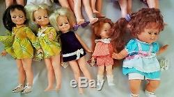 Vintage Ideal Crissy family dolls African American Doll lot