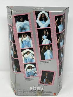 Vintage Magic Moves Black Barbie Doll #2127 Never Removed from Box 1985 Mattel
