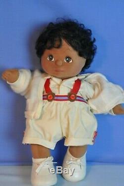 Vintage Mattel 14 Black Boy My Child Doll Original 3 PC Outfit Marked VGC