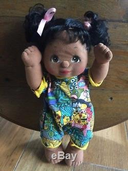Vintage Mattel 1985 African American My Child Doll