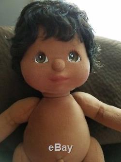 Vintage Mattel African American My Child Doll- Boy
