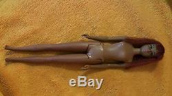 Vintage Mattel Black African American Francie Barbie Doll 1st Edition