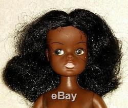 Vintage RARE AA African American Black Sindy Friend Gayle Doll Variation