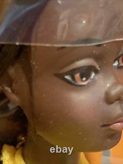 Vintage Sun Set Malibu Christie Barbie Doll 1975 Mattel #7745 AA Black Rare NIB