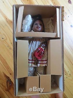 Virginia Turner Doll 22 Sadie Nib $68 African American