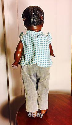 Vtg & Scarcely Found 1940's Dee And Cee (Mattel) African American Doll Mandy
